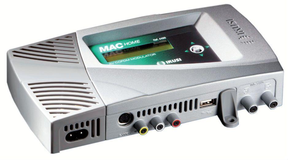 MAC-HOME DVB-T dig. modulator