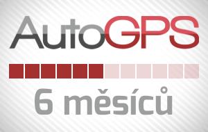Auto-GPS půlroční předplatné
