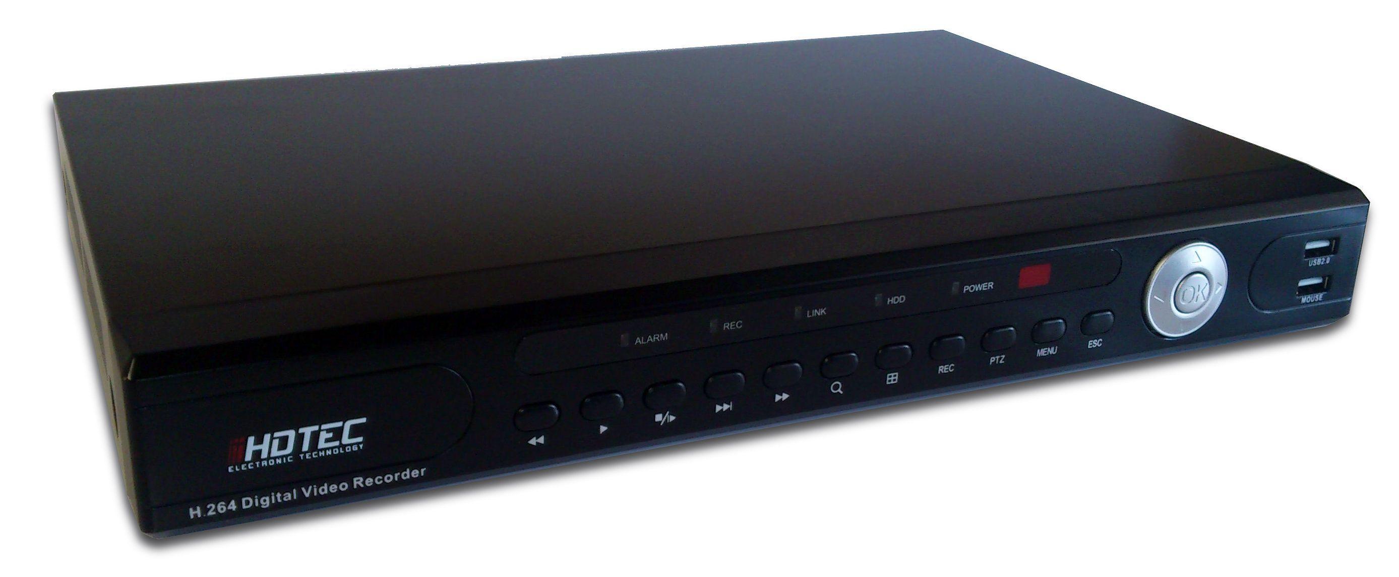 HDTS904U 4ch DVR H264 D1/100fp