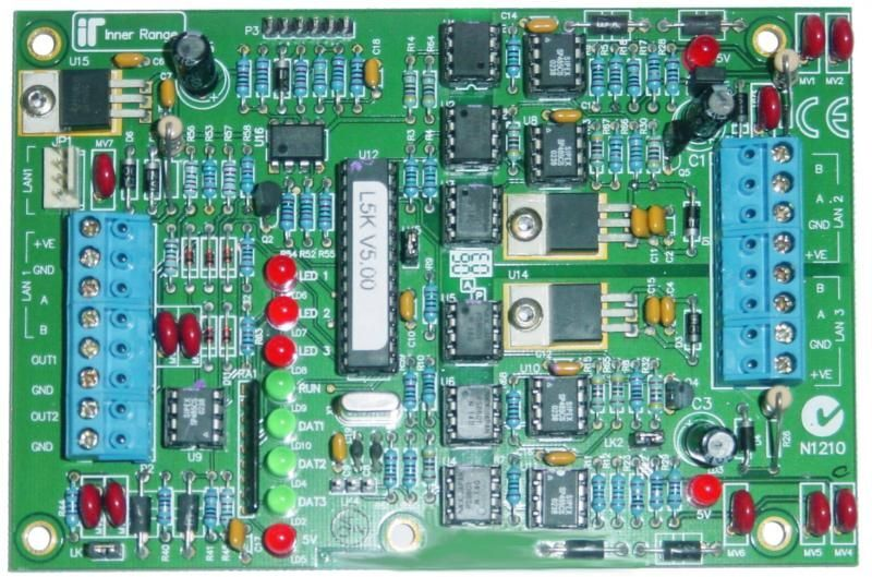 IRI3000 LAN Isolator