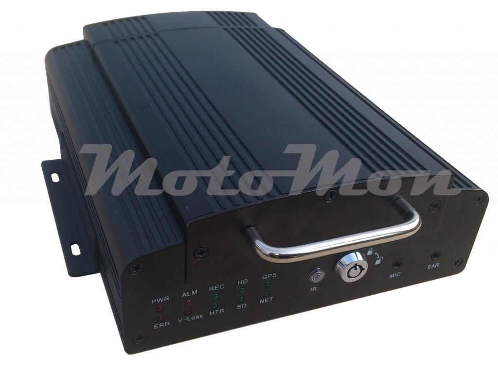 MD204D mob. DVR,GSM,GPS,WiFi