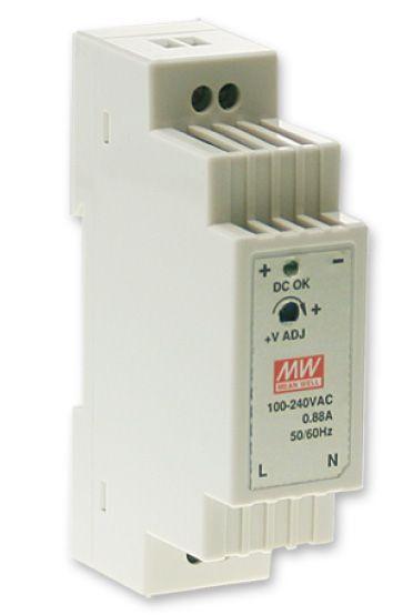 DR-15-12 Zdroj DIN 12VDC/1,25A