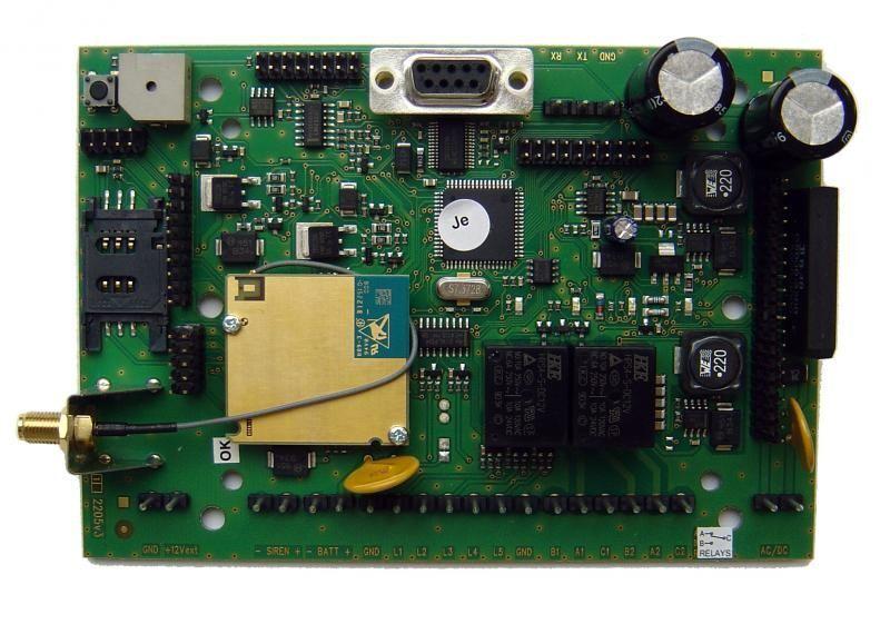 _GSMGuard EZS GSM ustredna, 8z