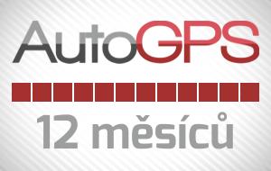 Auto-GPS roční předplatné