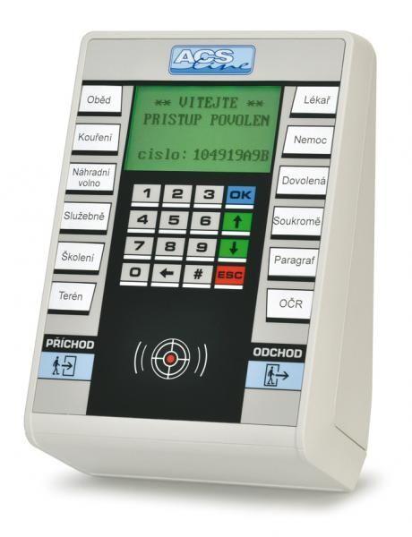 FT500-B dochazk. terminal LAN