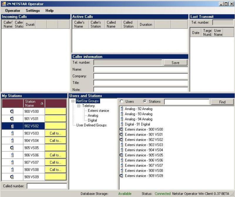 2N NetStar Operator licence (1 uživatel)