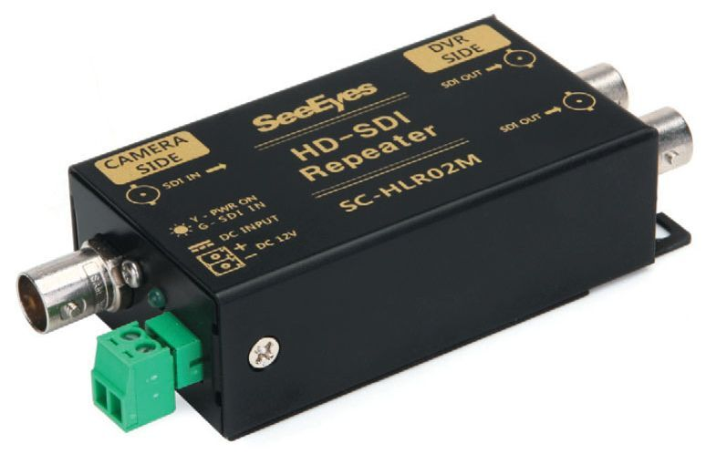 SC-HLR02M HD-SDI Repeater,2out