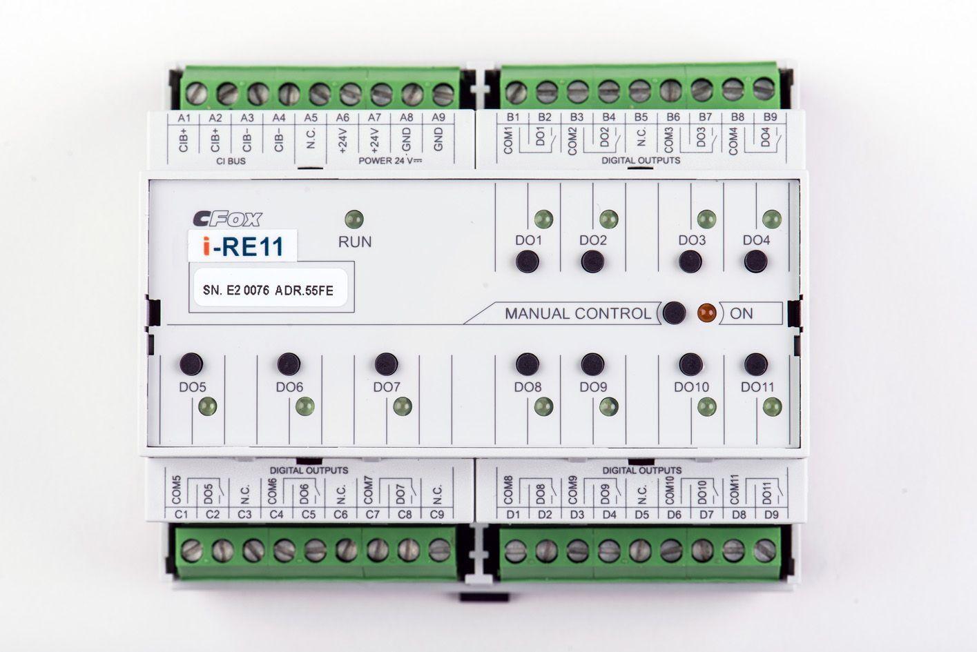 IRE11 modul reléových výstupů