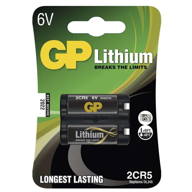 GP 2CR5, blistr