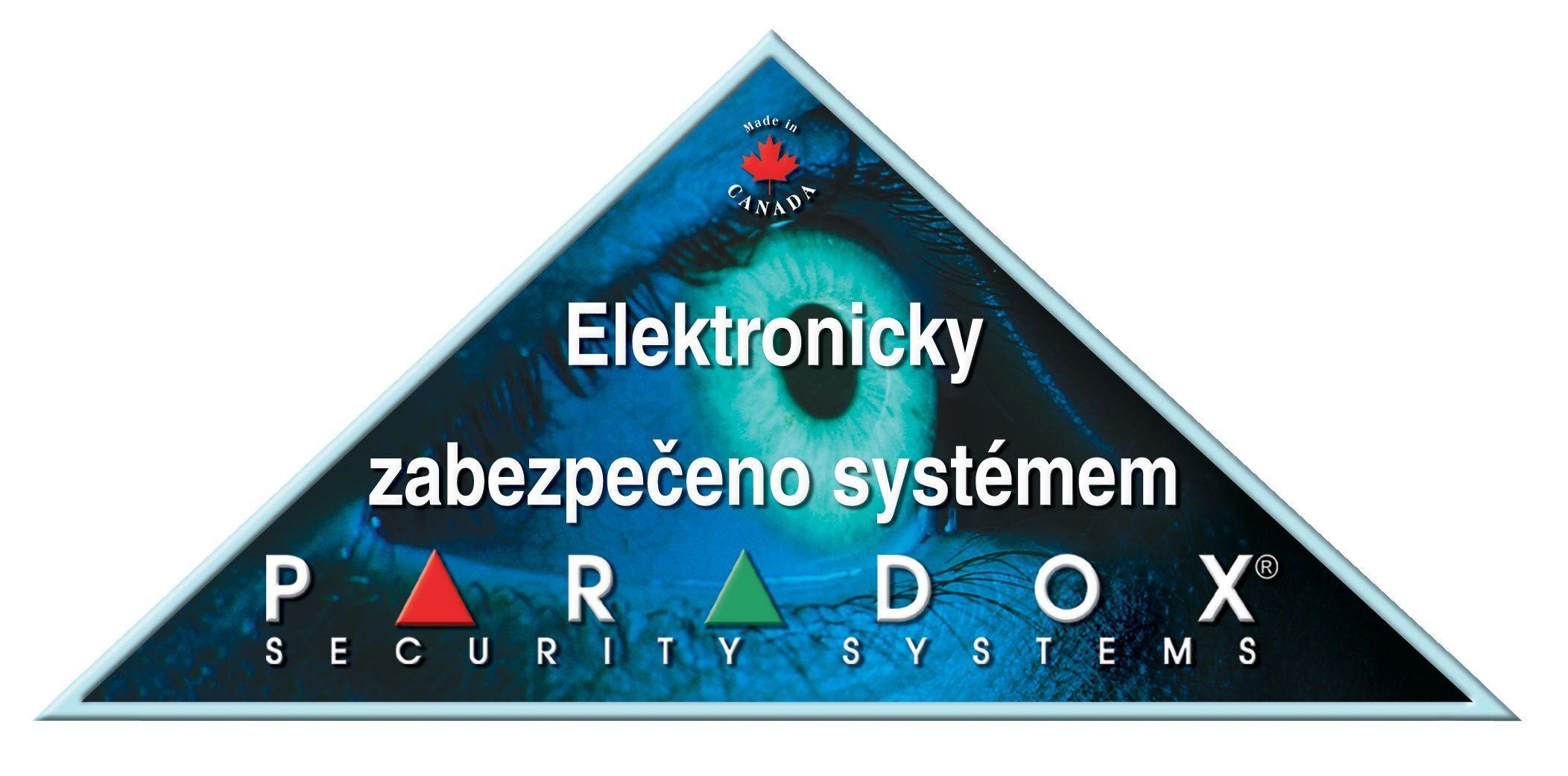 PARADOX - samolepka