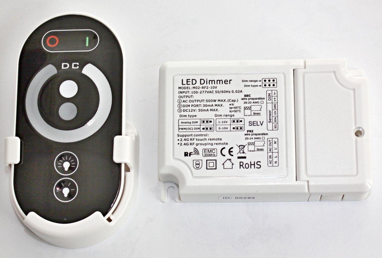 HDIM304B RF Touch Contr. 0-10V