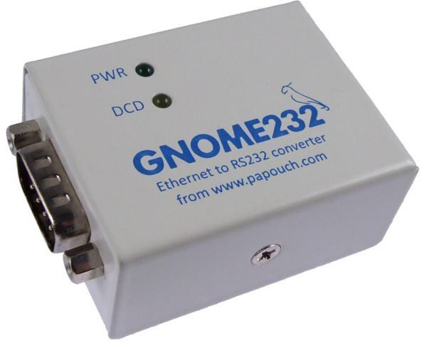 GNOME232 Převod.Ethernet RS232
