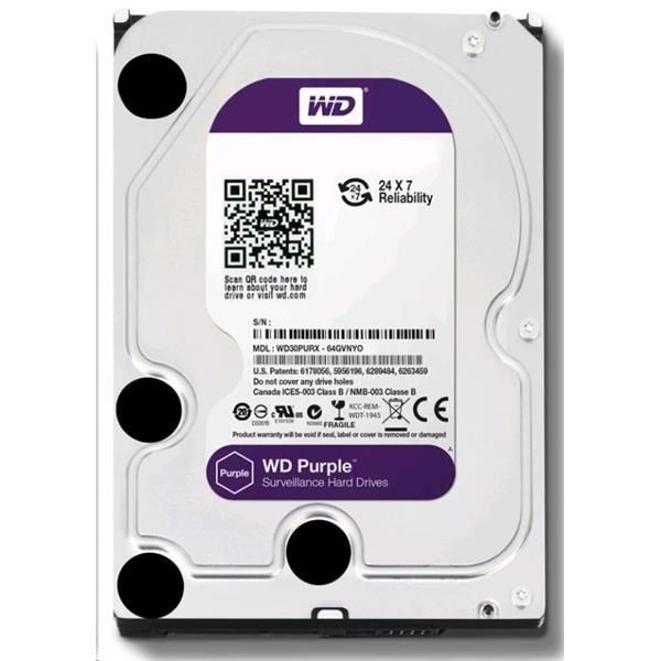 HDD 6TB WD60PURX