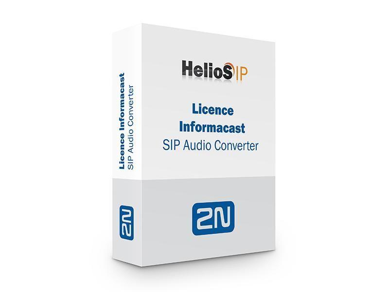 2N SIP Audio Converter License Informacast