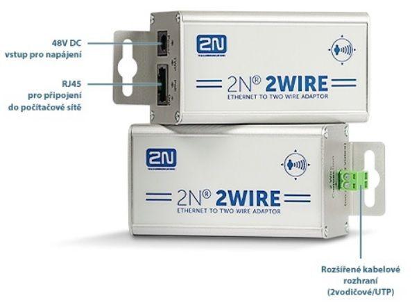 2Wire - sada s EU napájecím kabelem