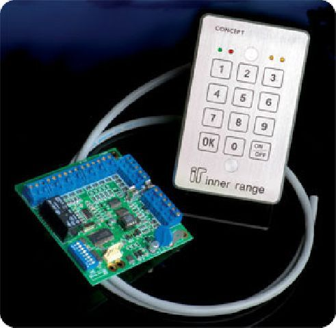IRT5010 Waterproof keypad