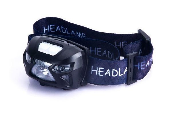 HEADLAMP sensor USB charging