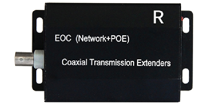 HDx902E-RX Interface Ethernet PoE over Koax